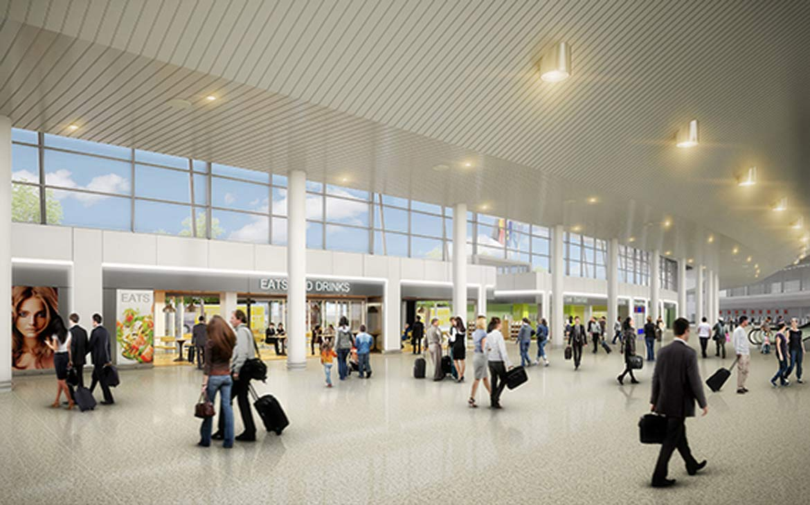 Perth Airport's new upgraded Terminal 1