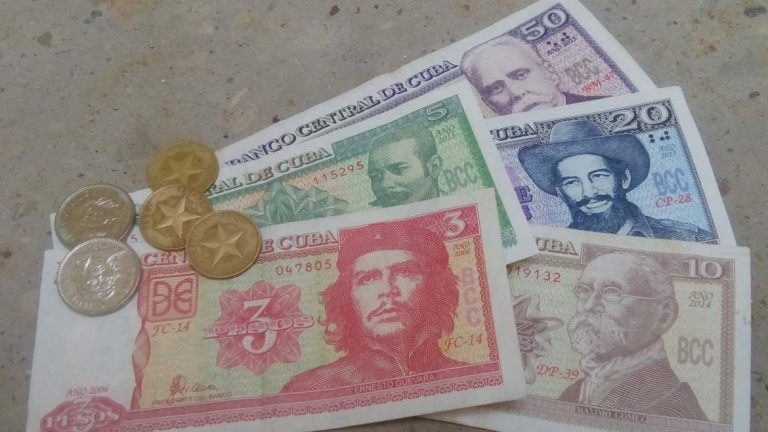 Cuban currency notes