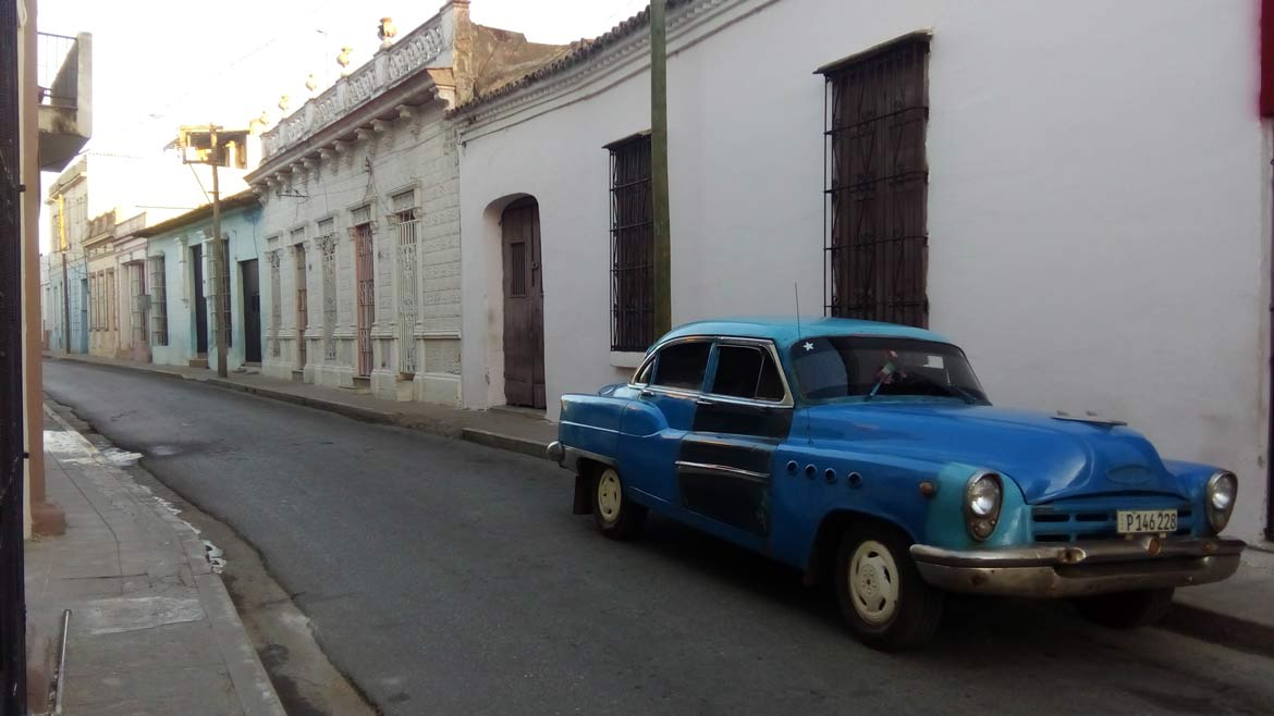 A quiet side street in beautiful Camaguey