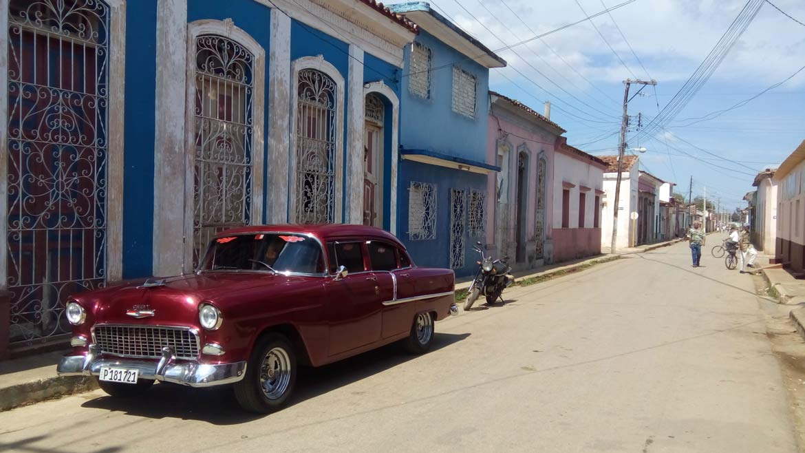 The beautiful old cars are one of the big attractions in Cuba