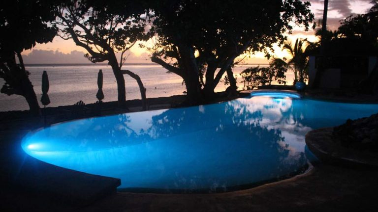 Well maintained Swimming Pool in Fiji