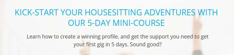 Housesit Hustle 5 Day Mini Course