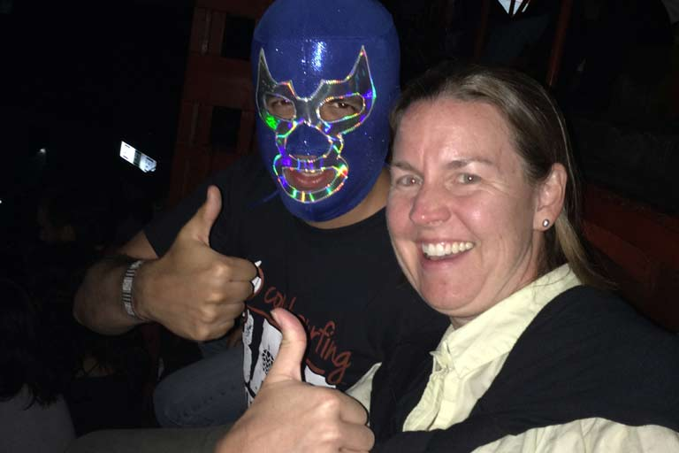 Lucha Libre Couchsurfing Event