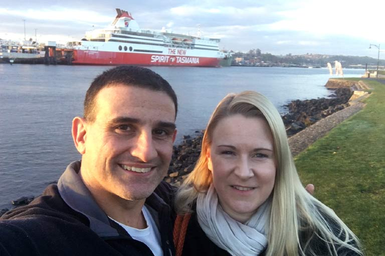 Spirit of Tasmania Ferry Crossing
