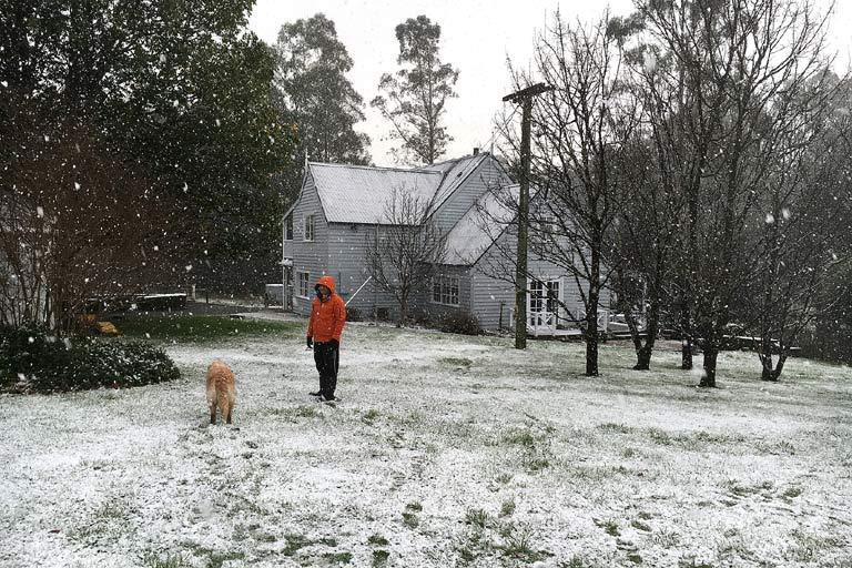 Wintry days in Tasmania