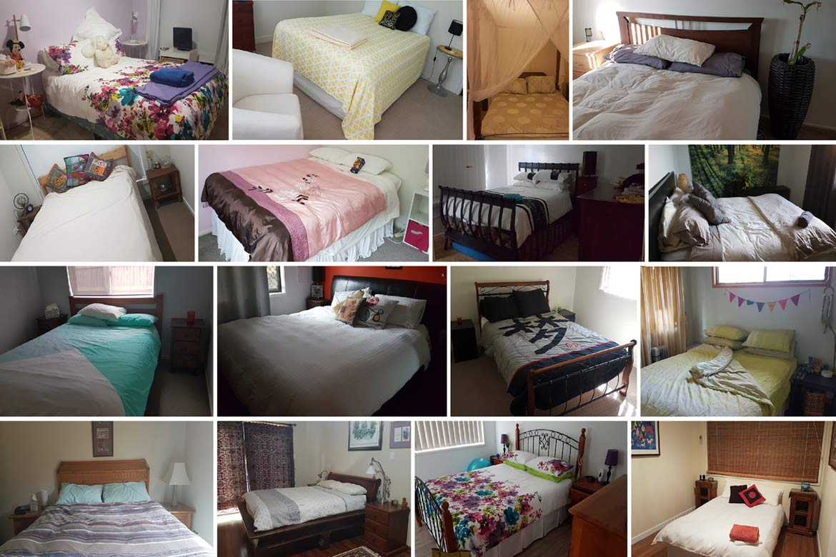 21 Different Beds as a solo house sitting woman