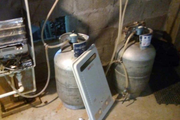Propane Gas power alternative when house sitting