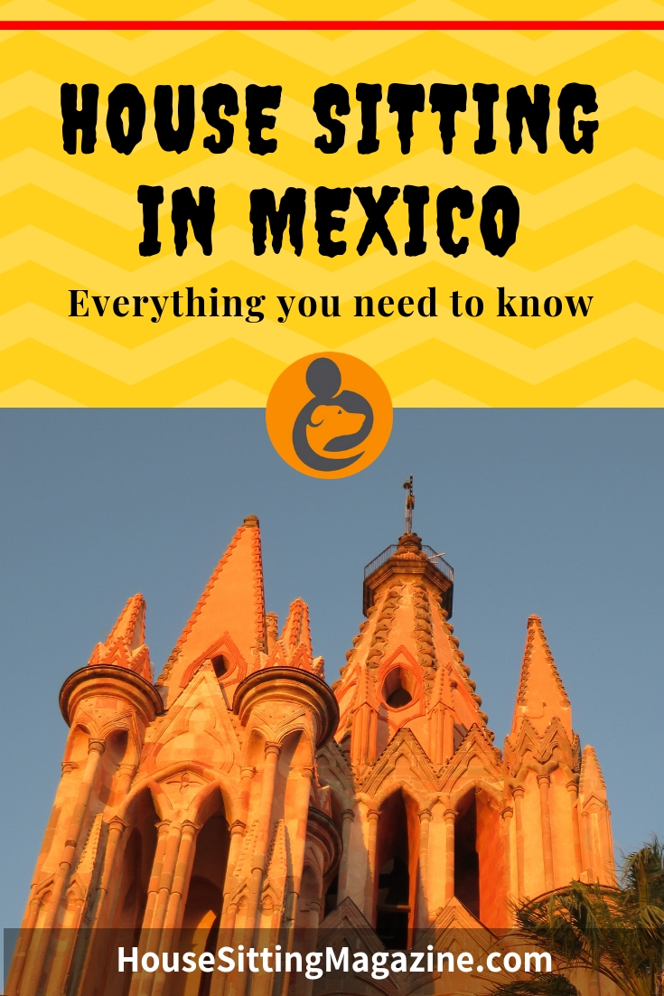 Begin house sitting in Mexico - getting started guide #housesitmexico