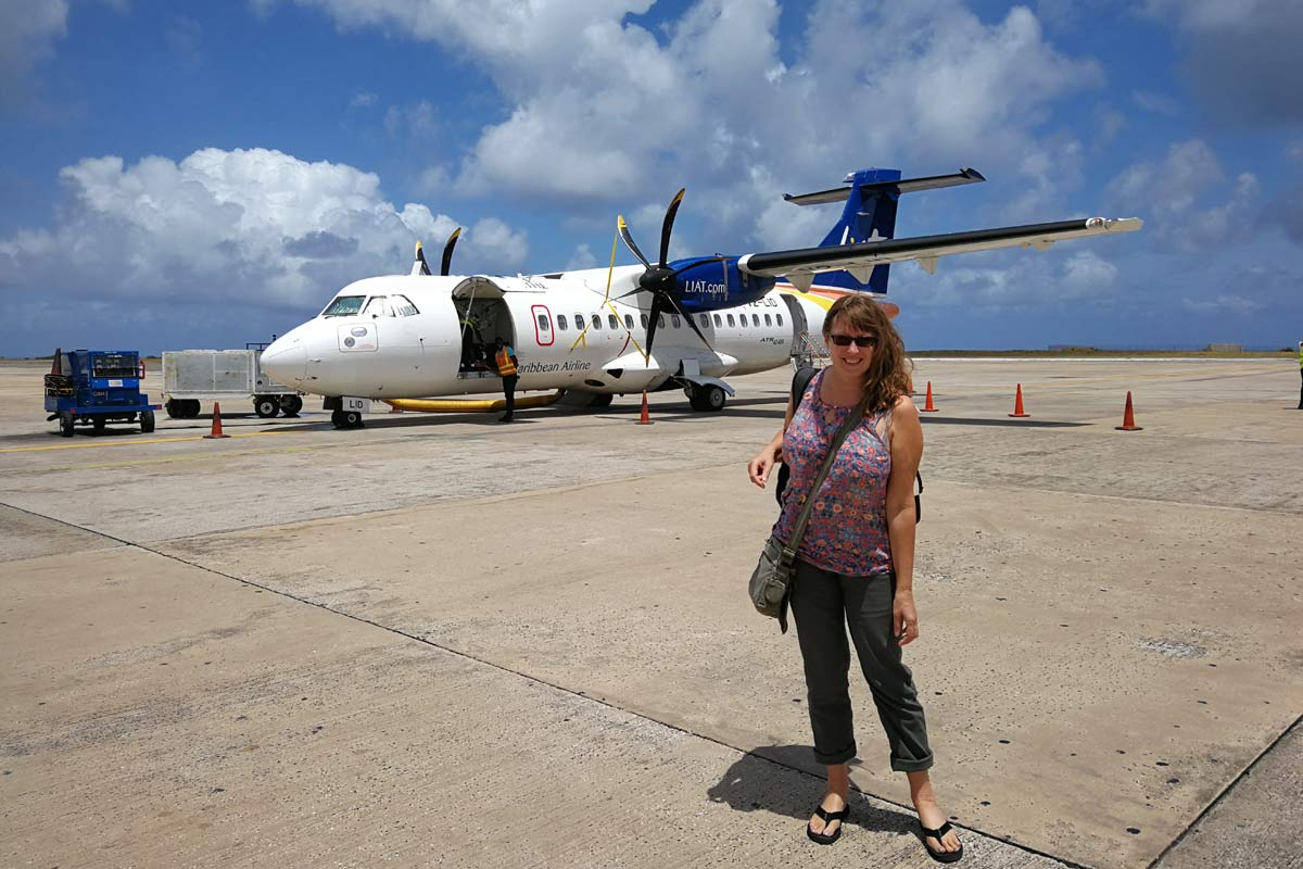 LIAT Airlines Barbados to St Vincent