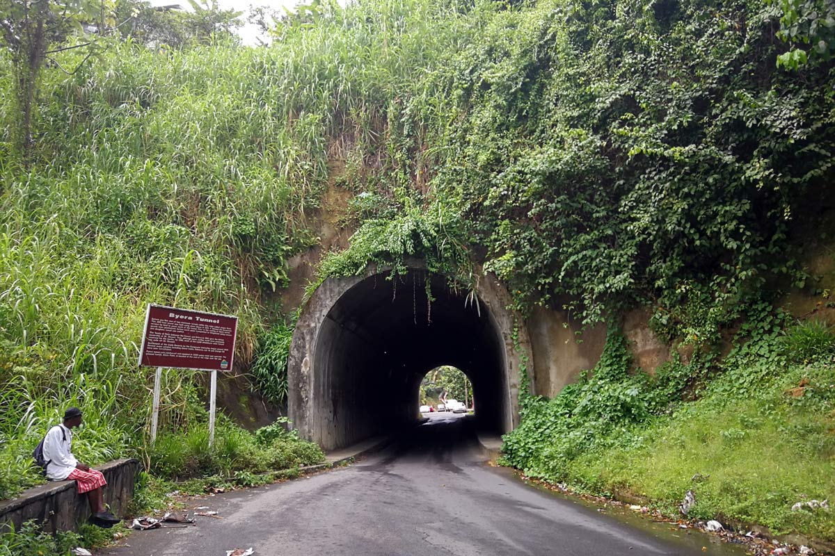 Historic Tunnel on Saint Vincent