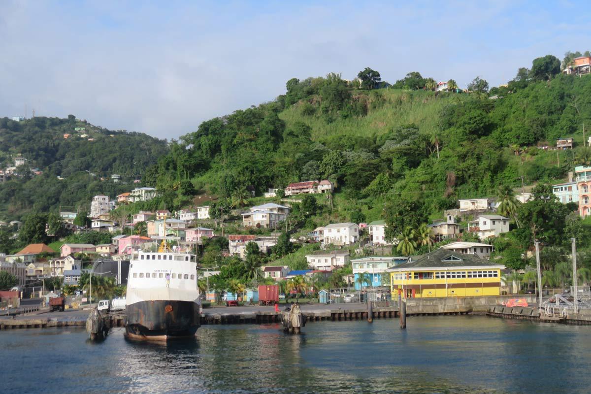 St Vincent Kingstown Ferry Port