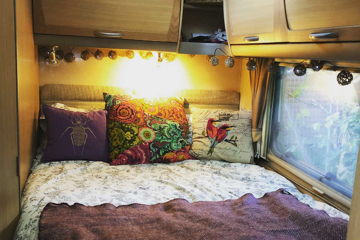 Is a fixed bed important in your van