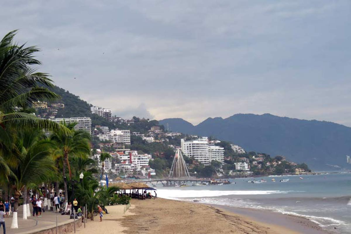 Puerto Vallerta in Mexico
