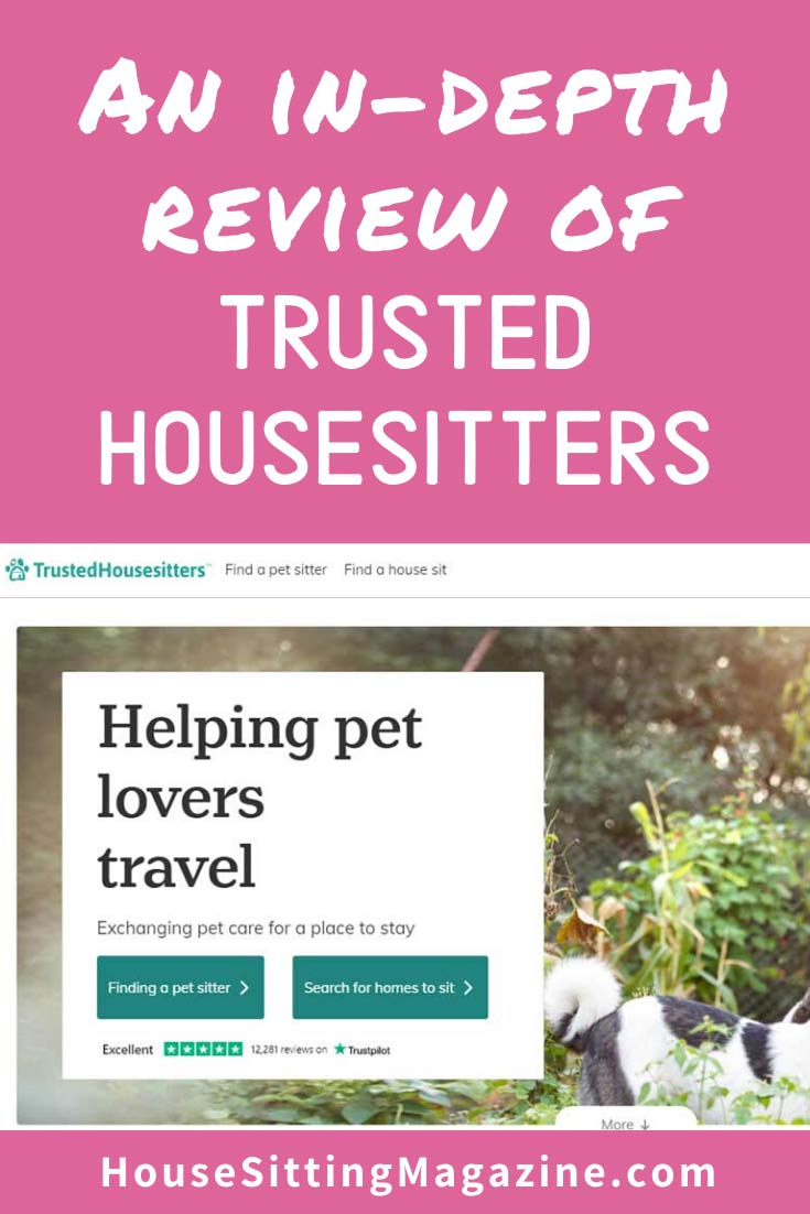 Indepth review of TrustedHousesitters