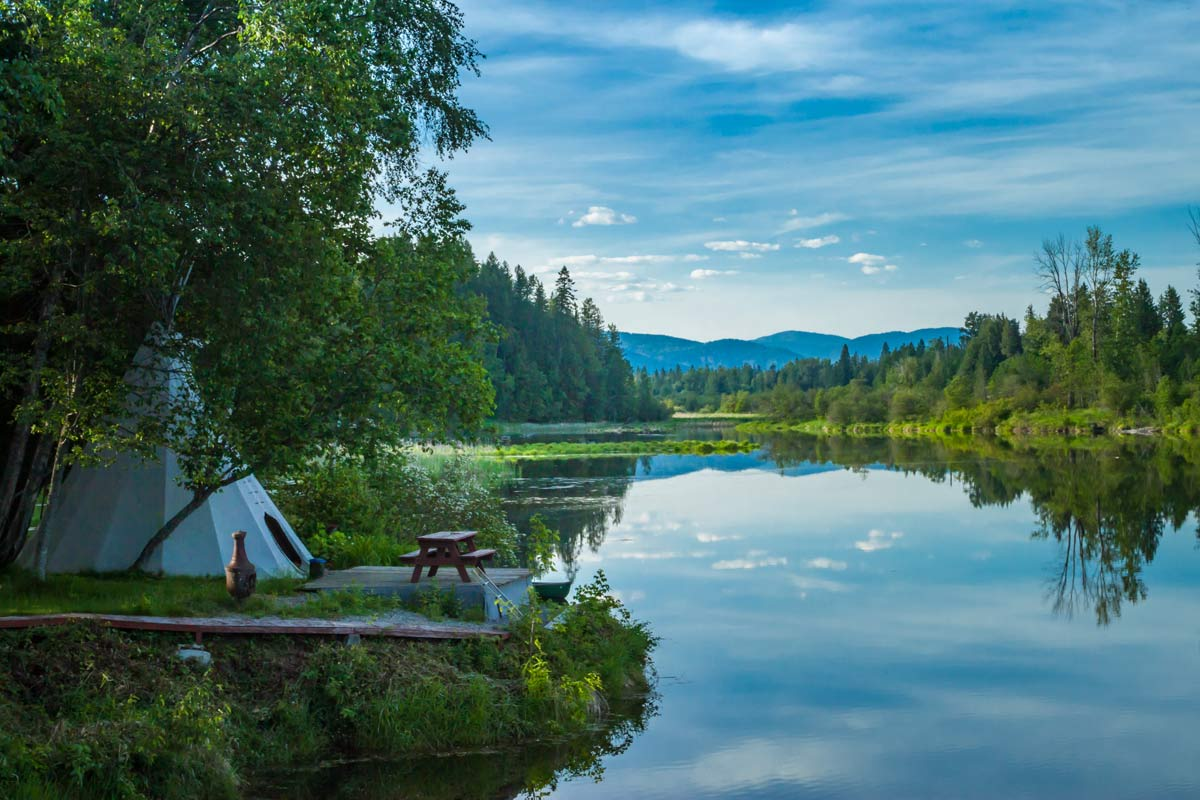 Glamping options