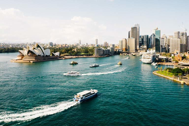 Sydney Harbour Free Sights for house sitters