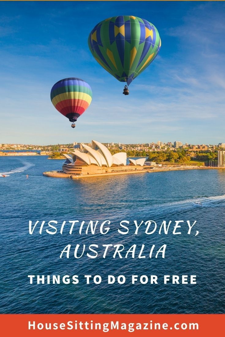 House sitting in Sydney - sights to see on a budget #freeSydney #sydneysights #housesitsinsydney #visitsydney #aussiehousesitters