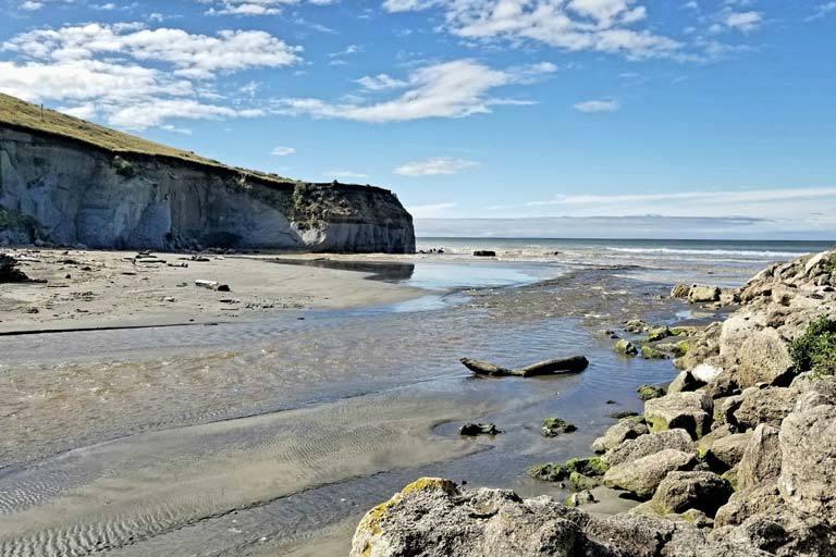 Beach and coast always close in NZ