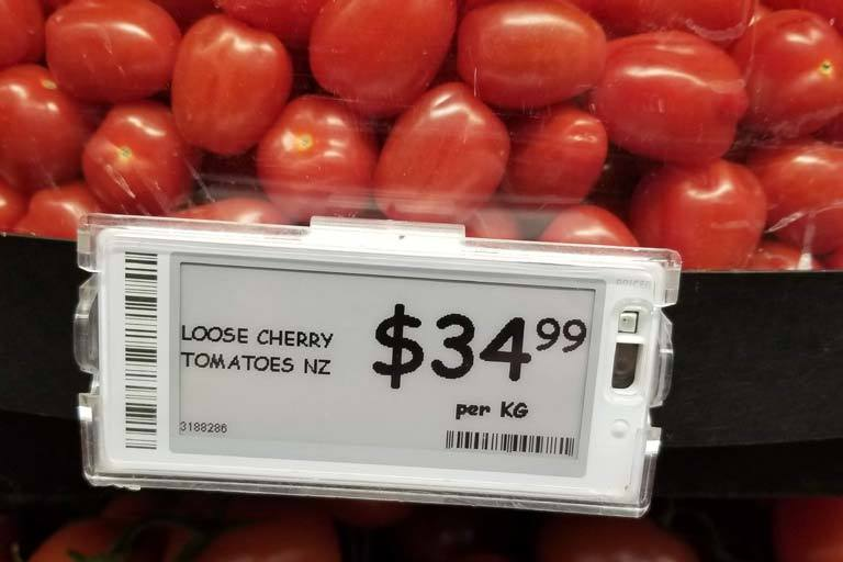 Cherry tomatoes soar in price